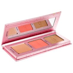 BENEFIT COSMETICS Get The Pretty Started! Bronze, Blush, & Highlight Palette 2
